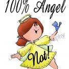 Angel NOT S-Shirt Humorous