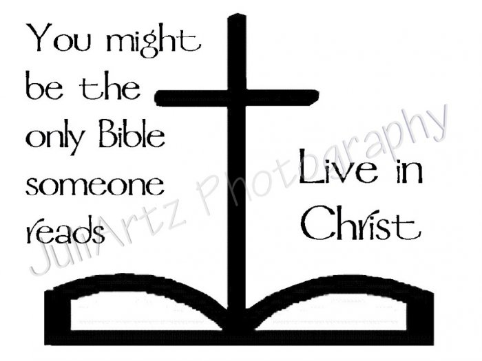Live In Christ T-Shirt Religious