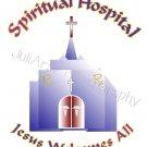 Spiritual Hospital T-Shirt Religious