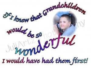 Grandchild First T-Shirt CUSTOM
