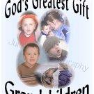 God's Greatest Gift Grandchildren T-Shirt CUSTOM