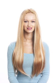 HAIR EXTENSION ADD ON  3/4 WIG