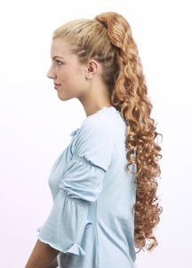 HAIR EXTENSION WIG ADD ON STYLE CLIP AND GO