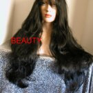 WOW WHAT A WIG!! LONG BLACK BEAUTY STYLE SKIN TOP GREAT WIG FOR SURE