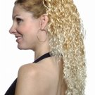 CLIP IN HAIR EXTENSION WIG GREAT FOR WEDDINGS,CHEERLEADERS,IRISH DANCERS NEW HAIR STYLE