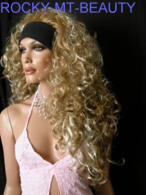 HELLEN  HAIR EXTENSION HEAD BAND WIG
