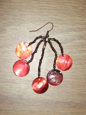 Beaded Shell Earrings 01
