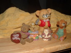 Lot of mixed figurines