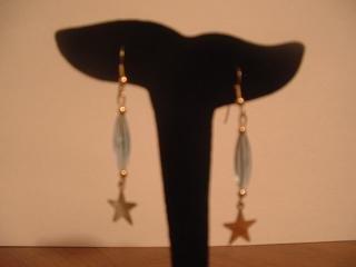 Blue Star Dangle