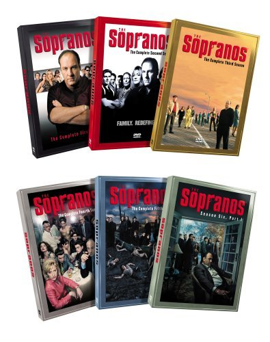 The Sopranos Complete Series 1-6.2 Individual Box Sets - NEW - Free Shipping