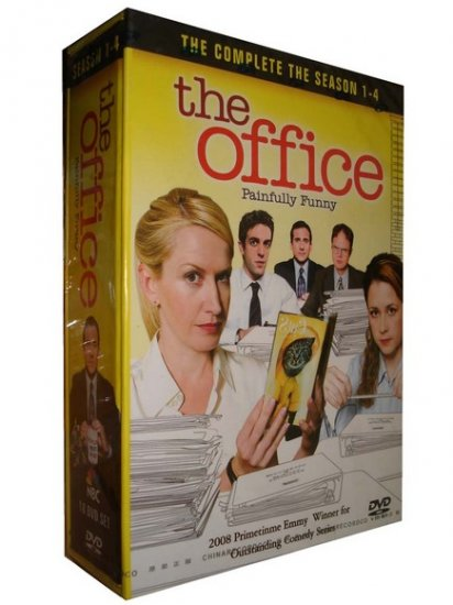 The Office Seasons 1-4 Box Set DVD - NEW - Free Shipping