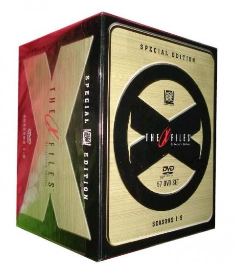 x files seasons 1 9 special edition dvd box set free shipping. Black Bedroom Furniture Sets. Home Design Ideas