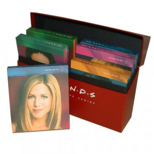 Friends Seasons 1-10 Red Box Set 40 DVD's - Free Shipping