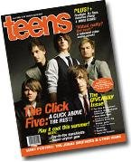 """Teens magazine featuring The Click Five + """"The Jonas Brothers"""" poster."""