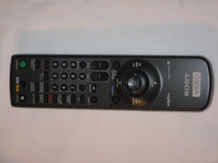 Sony RMT-V202A VCR Plus