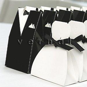 Bridal Gown Favor Box (Set of 10)