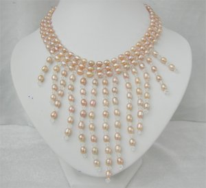 Gorgeous FW pearl necklace