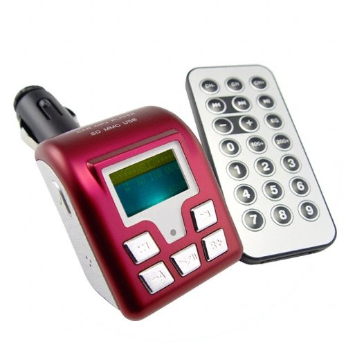 Handsfree Bluetooth Car Kit with FM Transmitter + USB/SD