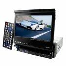 Breath Taking Single DIN Motorised 7 Inch Car DVD + Ipod In