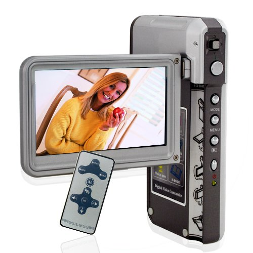5 MP Sleek Clamshell Camera with 3 Inch Widescreen