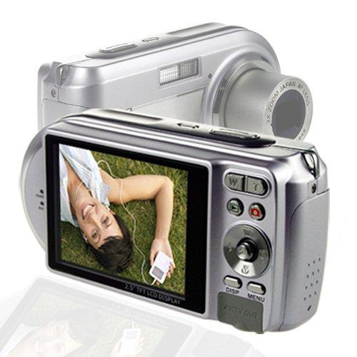7M Pixel Zoom Digital Camera - 1/2.5 Inch Panasonic Sensor