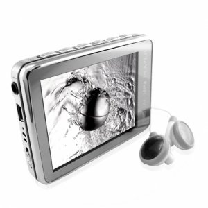 Stunning Silver 8GB MP4 Player - Full Metal Construction