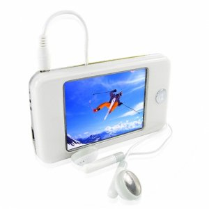 Amazing Touchscreen MP4 with 2.8 Inch LCD and Super Sound -8GB
