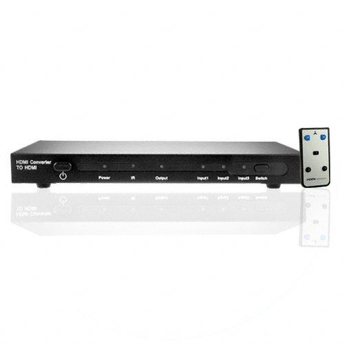 HDMI + Component + DVI 3 into 1 HDMI Home Theatre Switch