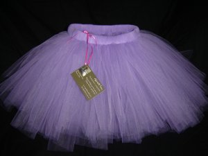 Light Purple 'Pansy' Tutu 4-5 Mid Thigh