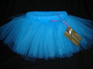 Turquoise Tutu 4-5 Mid Thigh