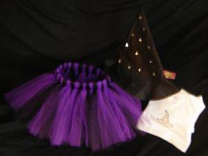 Custom Witch Halloween Tutu Costume