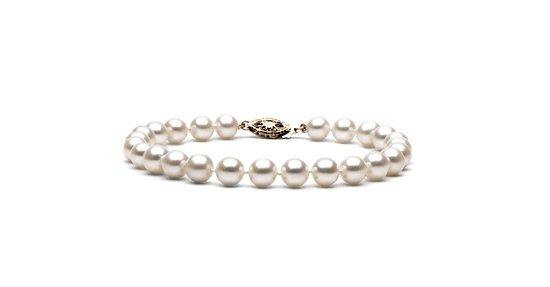 """7"""" Elite Grade - 6 to 7mm FreshWater Pearl Bracelet"""