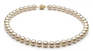 "16"" AAA Grade 8 to 9mm FreshWater Pearl Necklace"
