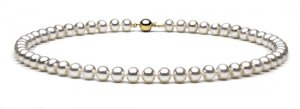 "18"" AAA Grade 7 to 8mm FreshWater Pearl Necklace"