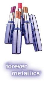 (3) Maybelline RUBY LUSTER #30 Forever Metallics Lipstick Sealed Rare Lipcolor