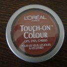 (2) Loreal CASHMERE MAPLE Touch-On Colour Eyes Lips Cheeks L'oreal Lot Rare