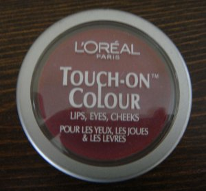 (2) Loreal FANATIC FUCHSIA Touch-On Colour Eyes Lips Cheeks L'oreal Lot Rare