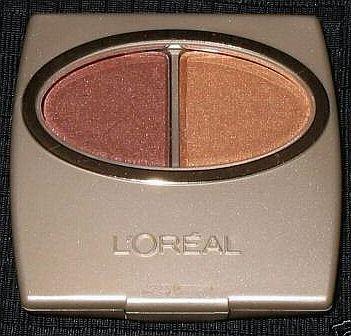 (1) Loreal AMBER WAVES Wear Infinite Eye Shadow Duo Eyeshadow Rare