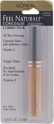 (3) Loreal MEDIUM Feel Naturale Concealer L'oreal Discontinued Rare