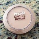 (2) Maybelline SAND MEDIUM 0-1 Dream Matte Powders Sealed Discontinued Rare