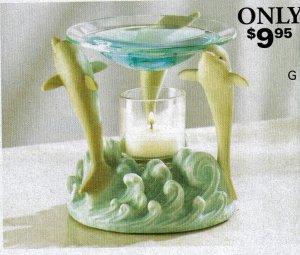 Dolphin Trio Oil Warmer