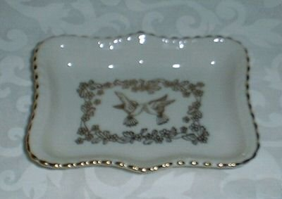 Lenox Golden Doves Trinket Tray Dish