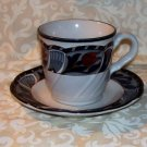 Noritake 8683 Tulip Ridge Cup and Saucer