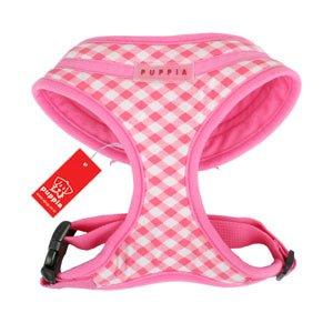 Puppia Lattice Harness Pink