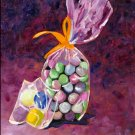 Chocolate Candy, Original Oil Painting