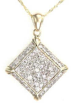 1.25 Caret Diamond Pendant--CLOSE OUT