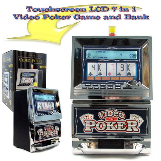 Touch Screen Video Poker 7 in 1 - Full Size