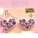 cutie heart earrings