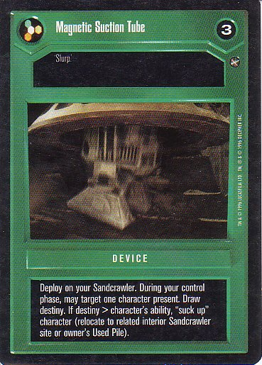 Star Wars CCG 1995 - Magnetic Suction Tube