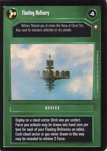 Star Wars CCG 1995 - Floating Refinery